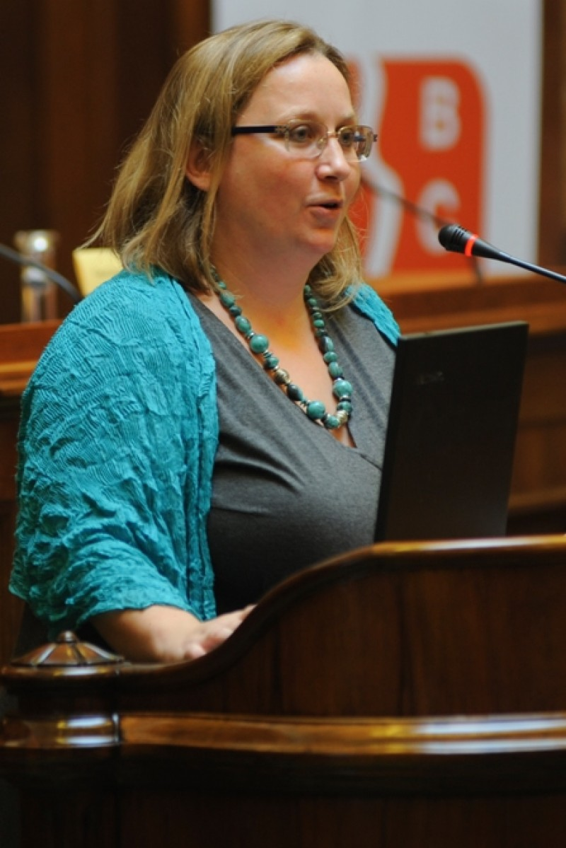 Sonja Stojanović, Director of the Belgrade Centre for Security Policy (Photo: courtesy of Ms Stojanović)