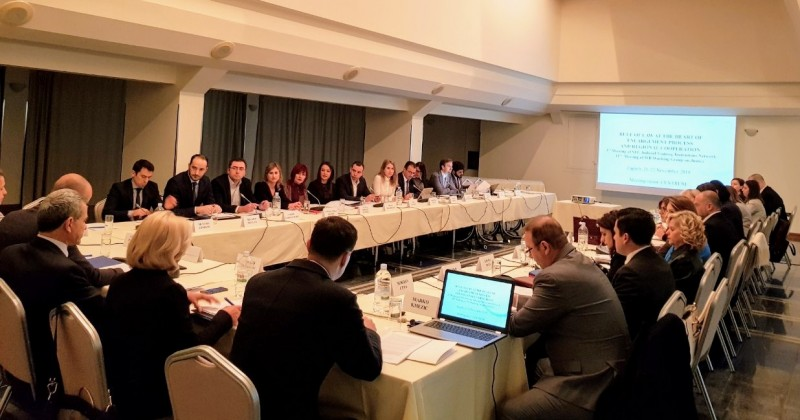 "The Regional Cooperation Council (RCC) hosted the 3rd Meeting of the South East Europe (SEE) Network of Judicial Training Institutions ""Rule of Law at the heart of enlargement process – regional cooperation"", in Zagreb, Croatia on 21-22 November 2018 (Photo: RCC/Elvira Ademovic)"