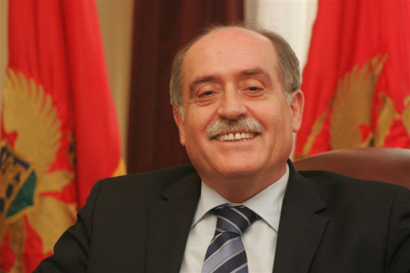 Milan Roćen, Minister of Foreign Affairs of Montenegro (Photo: http://www.mip.gov.me)