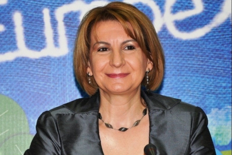 Teuta Arifi, Deputy Prime Minister for European Affairs, Skopje (Photo: courtesy of Ms Arifi)