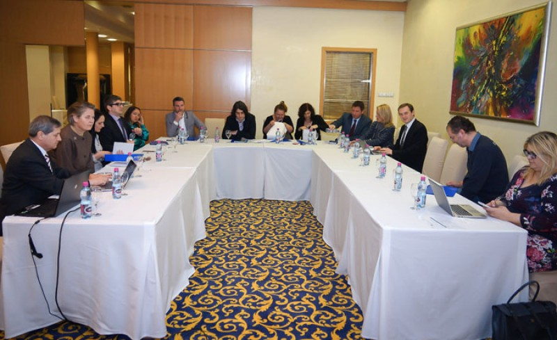 Western Balkan journalists gather for a two-day workshop devoted to Regional Cooperation Council (RCC)'s South East Europe (SEE) 2020 strategy, in Sarajevo, BiH, on 18-19 March 2014. (Photo: CEI)