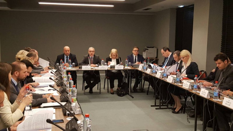 The third regular meeting of the SEE National Focal Points for countering radicalization and violent extremism and foreign terrorist fighters, took place on 22 March 2017 in Skopje. (Photo: RCC/Natasa Mitrovic)