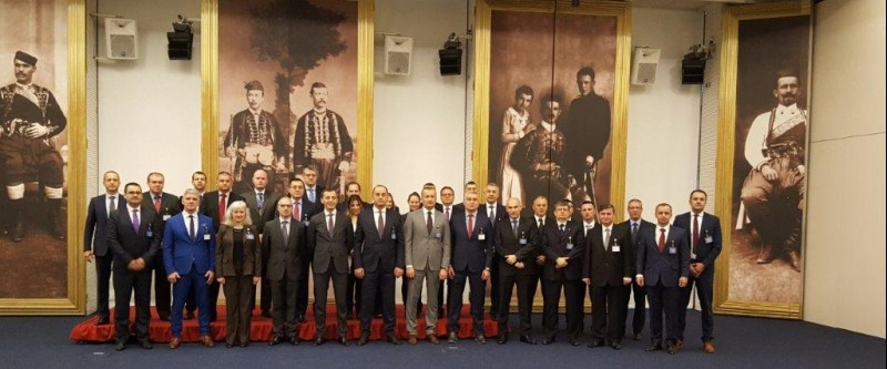 South East European Military Intelligence Chiefs (SEEMIC) at their 9th Conference held on 7 November 2017 in Budva, Montenegro. (Photo: RCC/Natasa Mitrovic)