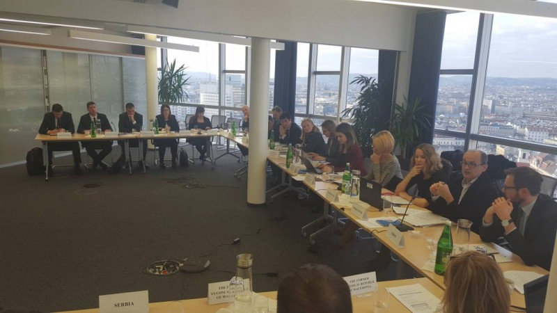 First Meeting of the Western Balkans Six Capital Market Authorities in Vienna, 19 December 2017 (Photo: RCC/Nedima Hadziibrisevic)