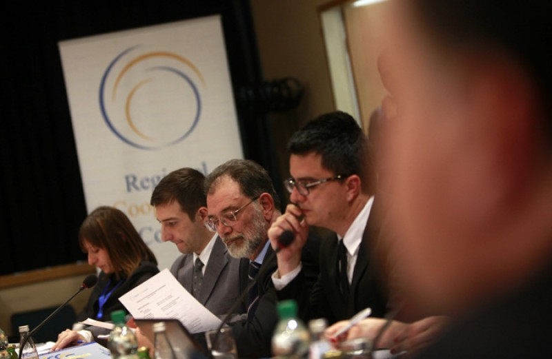 12th meeting of the South East Europe Investment Committee was held in Sarajevo on 19 March 2013. (Photo RCC/Dado Ruvic)