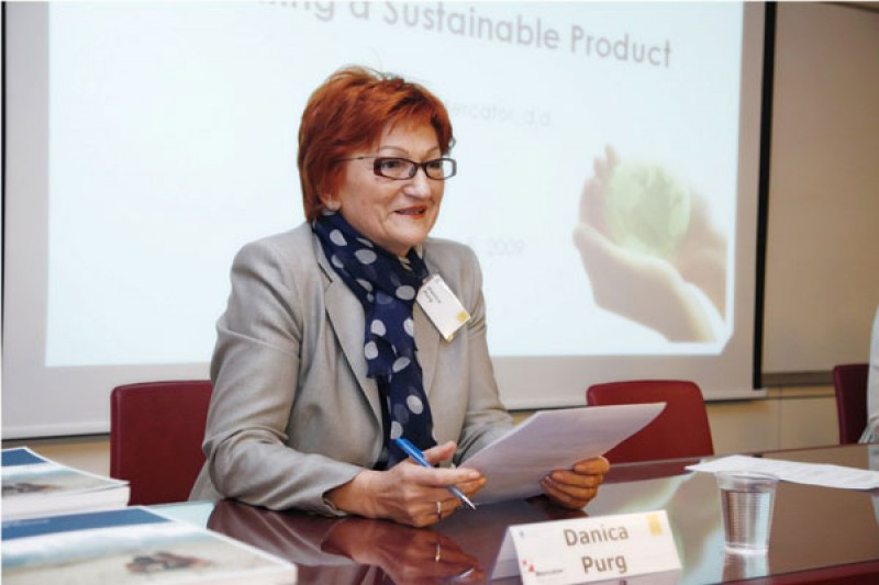 Prof. Dr. Danica Purg, President of IEDC-Bled School of Management, Slovenia (Photo: www.uncg-slovenia.si)