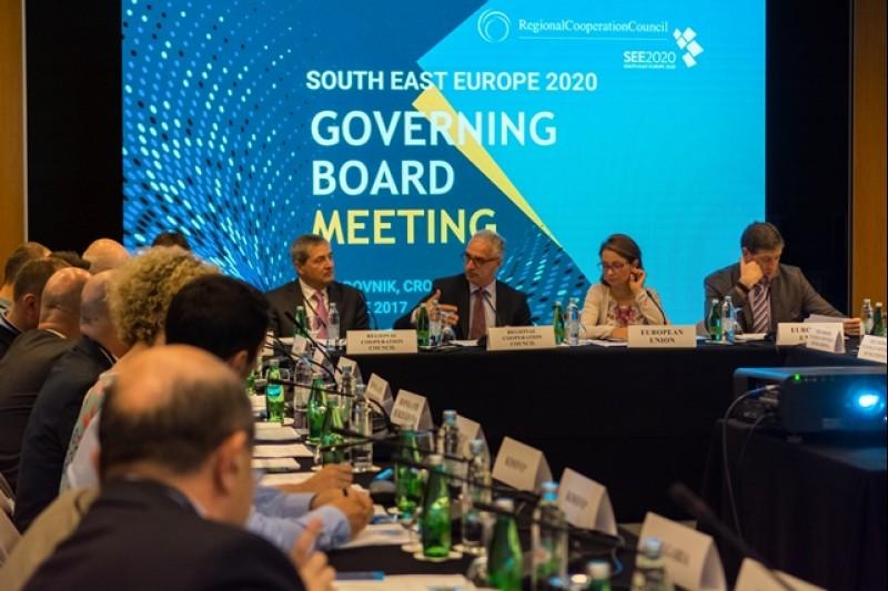 RCC's SEE2020 Strategy Governing Board meeting in Dubrovnik, 28 June 2017 (Photo: RCC/Srdjan Kurajica & Klaudio Pozniak)