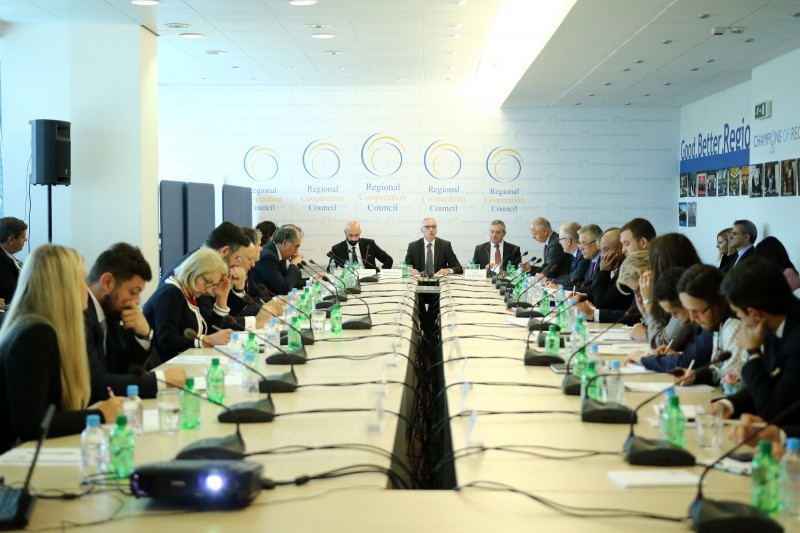 35th Meeting of the RCC Board, held on 18 October 2018 in Sarajevo (Photo: RCC/Armin Durgut)