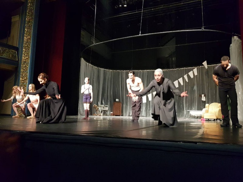 """The RCC brought contemporary ballet choreodrama """"They"""" ('Oni') of the National Theatre in Belgrade to Sarajevo, which was hosted by National Theatre Sarajevo on 7 March 2018. (Photo: Alma Arslanagic Pozder)"""
