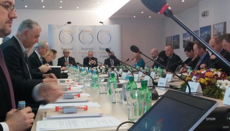 Meeting of RCC Board, held on 26 February 2015, in Sarajevo, BiH. (Photo RCC/Ratka Babic)