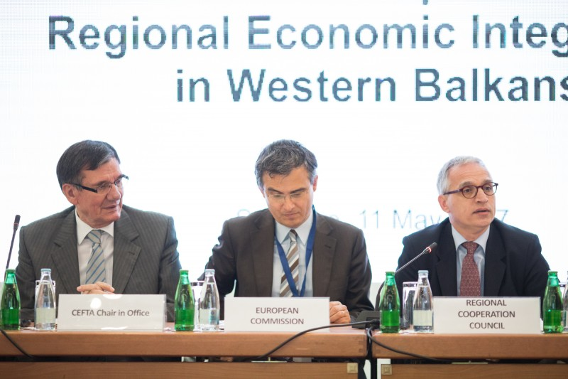 Workshop on Regional Economic Integration in Western Balkans, co-organized by the RCC,  EC, and CEFTA, took place on 11 May  2017 in Sarajevo, BiH (Photo: RCC/Haris Calkic)