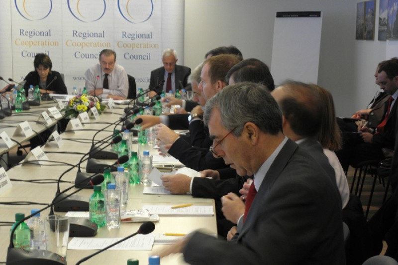 The RCC Board met in Sarajevo, Bosnia and Herzegovina, on 18 October 2012. (Photo: RCC/Selma Ahatovic-Lihic)