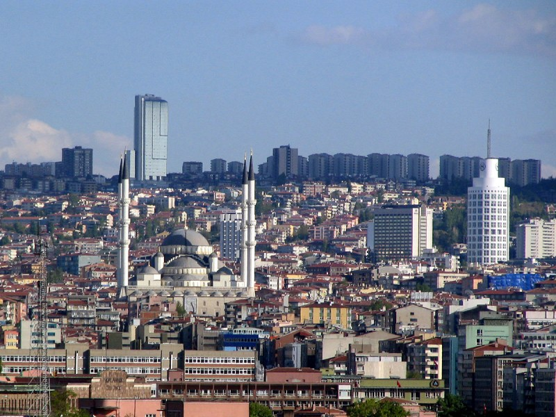 A discussion on cooperation prospects between SEE economies and Turkey will be held under the umbrella of G20/B20 Conference today in Ankara. (Photo: https://sh.wikipedia.org/wiki/Ankara)