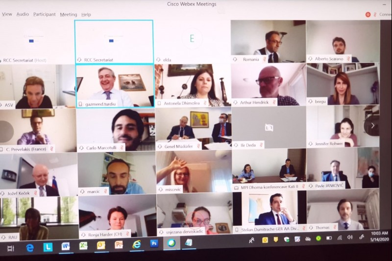 RCC Board met for the 40th time in a row and for the first time online due physical distancing requirements, on 14 May 2020