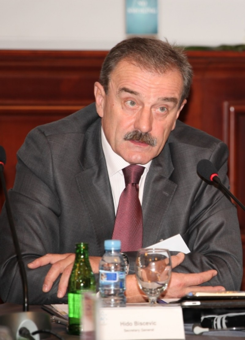 Hido Biscevic, RCC Secretary General (Photo: Predrag Milasinovic)