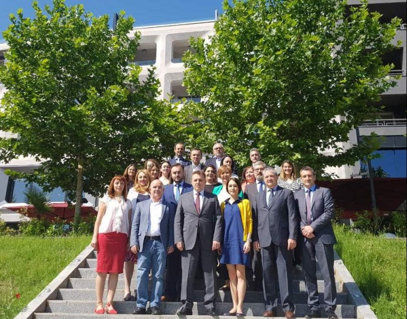 Participants of the 7th meeting of the RCC-led Regional Working Group on Environment (RWG Env) in Skopje, 30 May 2018 (Photo: RCC/Nadja Greku)