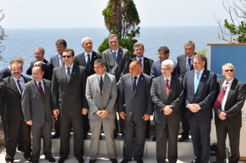 Participants of meeting of Heads of State and Government of the South-East European Cooperation Process, on 30 June 2011, in Budva, Montenegro. (Photo: www.predsjednik.me)