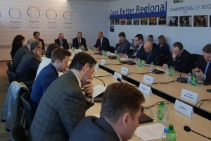 34th Meeting of the RCC Board, held on 15 March 2018 in Sarajevo. (Photo: RCC/Ratka Babic)