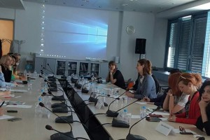 Visit of journalists from Serbia and representatives of Serbian Government's Team for social inclusion and poverty reduction to the RCC Secretariat on the topic of gender-sensitive and affirmative media representation of vulnerable groups, Sarajevo, 31 March 2017 (Photo: RCC/Ratka Babic)