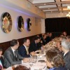Informal meeting of the SEECP Foreign Ministers, hosted by Daniel Mitov, Bulgarian Minister of Foreign Affairs and current SEECP Chair in Office, held on 30 September in New York. (Photo: Ministry of Foreign Affairs of Albania)