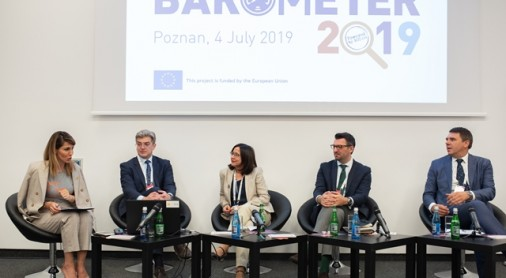 Regional Cooperation Council presents Balkan Barometer 2019 findings at Western Balkans Summit in Poznan, 4 July 2019 (Photo: RCC/Erik Witsoe)