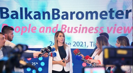 Bregu: Balkan Barometer reveals human uncertainty and vulnerability are main concerns followed by some goodish news on benefits of regional cooperation