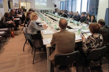 10th meeting of the South East Europe Investment Committee, first one under RCC Secretariat's umbrella, was held in Sarajevo on 24-25 April 2012. (Photo: RCC)