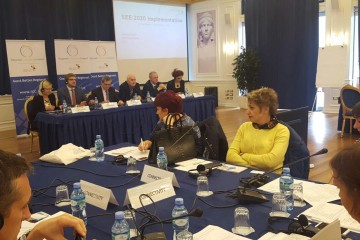 RCC Secretariat discussed priorities for implementation of the SEE 2020 Strategy for the next 3 years with Albanian authorities at the workshop in Tirana, 11 November 2016 (Photo: RCC/Alma Arslanagic Pozder)