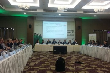 The First High Level Ministerial Panel on Responding to Climate and Environmental Challenges in South East Europe (SEE) took place in Podgorica on 1 April 2016. (photo: RCC/Nenad Sebek)