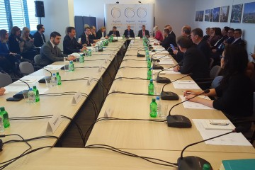 31st meeting of the RCC Board, on 15 March 2017 in Sarajevo, BiH. (Photo: RCC/Selma Ahatovic-Lihic)