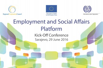 RCC and ILO to launch 'Employment and Social Affairs Platform' Project