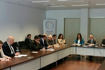 RCC Secretary General Goran Svilanovic briefs the Ambassadors of the South East European (SEE) countries accredited in Brussels, 5 June 2015 (Photo: RCC/Natasa Mitrovic)