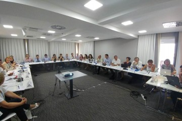 Meeting of representatives of Western Balkan Public Employment Services on qualitative benchmarking, Tivat, Montenegro, 18 July 2017 (Photo: RCC/ESAP/Sanda Topic)