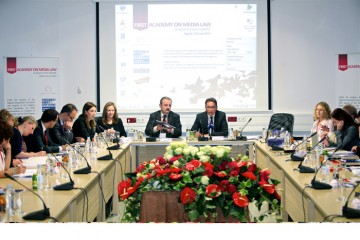 The first Academy on Media Law in South East Europe, was  held in Zagreb, Croatia, on 3-8 June 2012. (Photo: Courtesy of the European Association of Public Service Media in South East Europe)