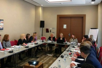 Podgorica hosted two RCC-led events on judicial matters: Regional Seminar on practical issues in the framework of the judicial cooperation in civil, commercial and family matters and the 7th  meeting of the Working Group on Justice, on 21-22 March 2017. (Photo: RCC/Elvira Ademovic)