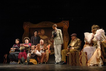 "Branislav Nusic's ""Gospodja ministarka"" (The Cabinet Minister's Wife) by Belgrade's  ""Bosko Buha"" theatre company. (Photo: svet.rs)"