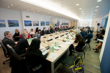 RCC Board meets in Sarajevo on 15 October 2015 (Photo: Amer Kapetanovic)