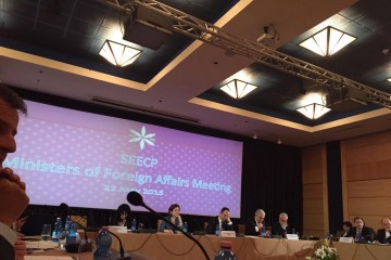 SEECP Foreign Ministers Meeting, Tirana, Albania 22 May, 2015 (Photo: @Petrit)