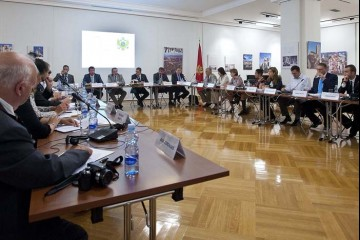 RCC Task Force on Culture and Society was constituted on 23 June 2011 in Cetinje, Montenegro (Photo: Courtesy of Montenegrin Ministry of Culture)